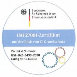 Zertifikat IT-Sicherheit